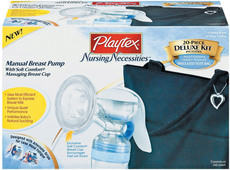 Playtex Manuelle Milchpumpe Deluxe Set