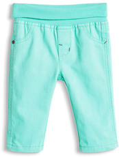 Esprit Stretch Hose mit Schlupfbund light aqua
