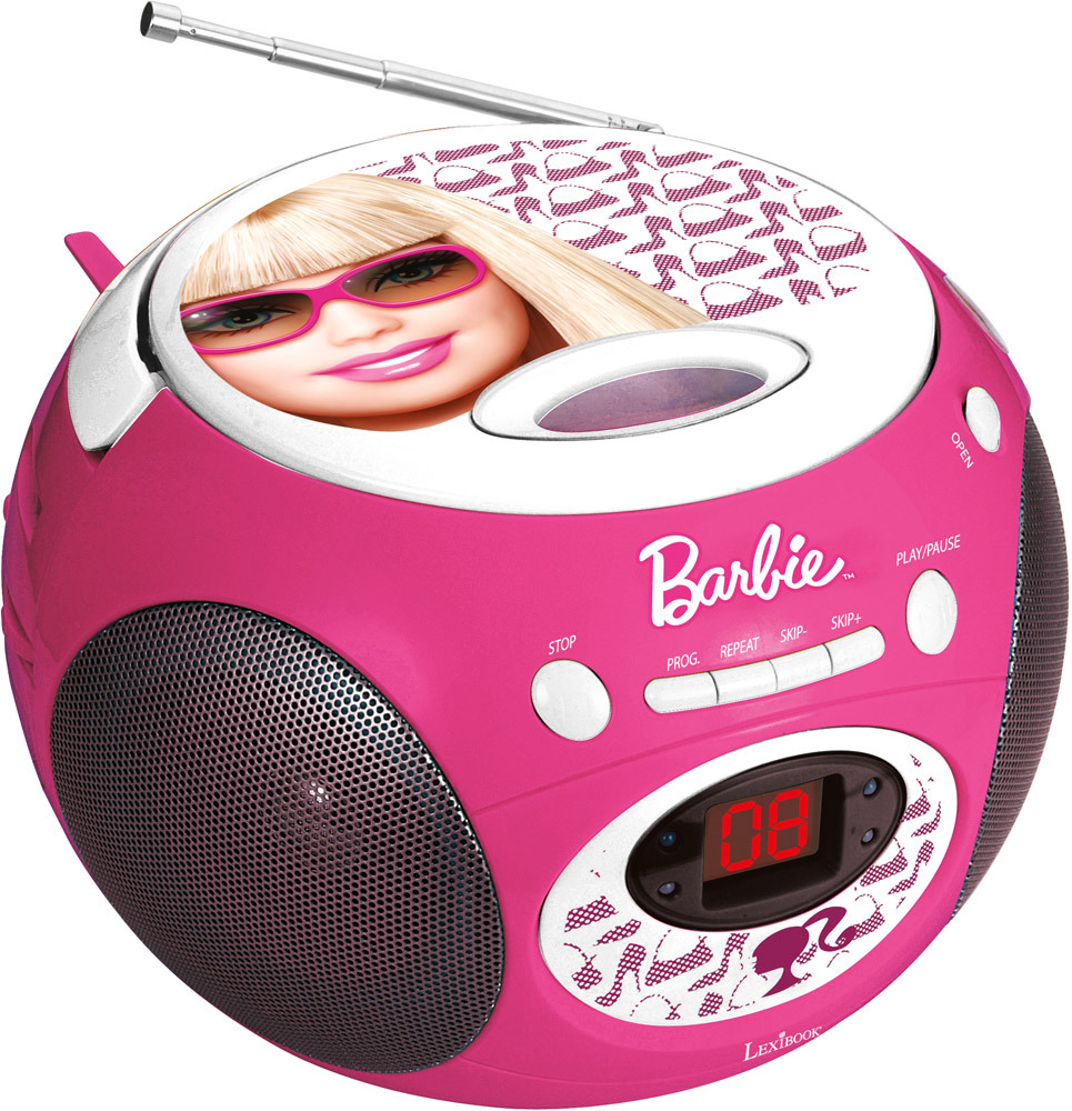 Boombox CD Player RCD 102BB Barbie