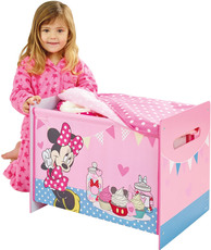 Worlds Apart Toy Box MDF + Canvas Minnie