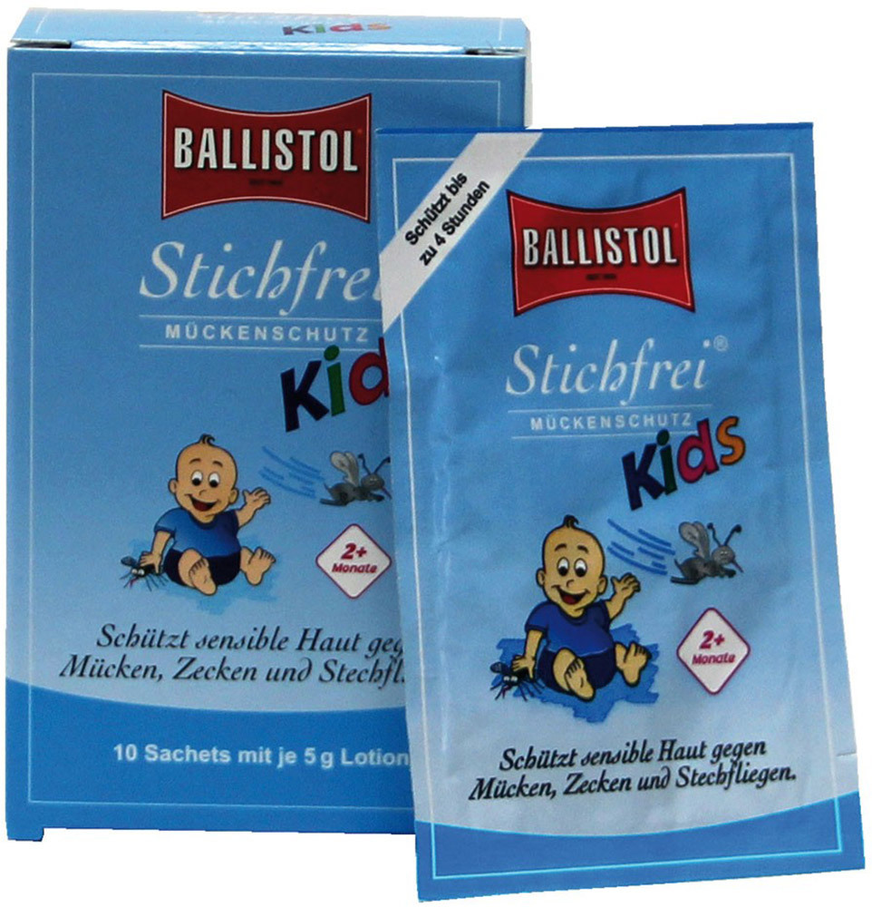 Ballistol Stichfrei Kids Sachet-Box  10-er Box