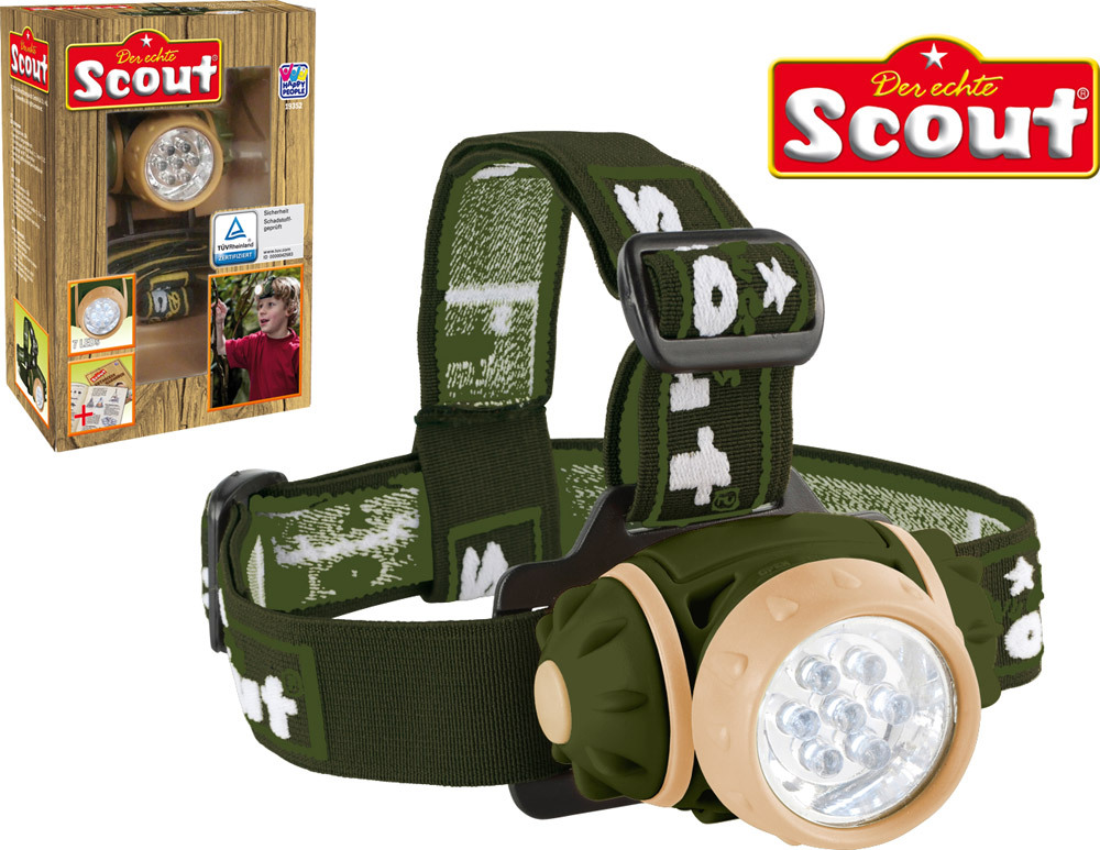 scout adventure led stirnlampe natur entdecken jetzt online kaufen. Black Bedroom Furniture Sets. Home Design Ideas