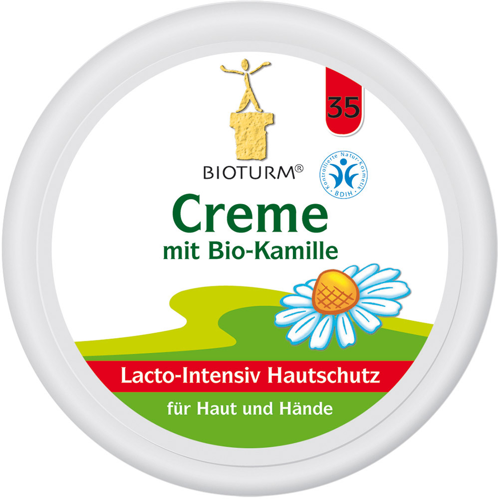 bioturm creme mit bio kamille nr 35 babycreme jetzt online kaufen. Black Bedroom Furniture Sets. Home Design Ideas