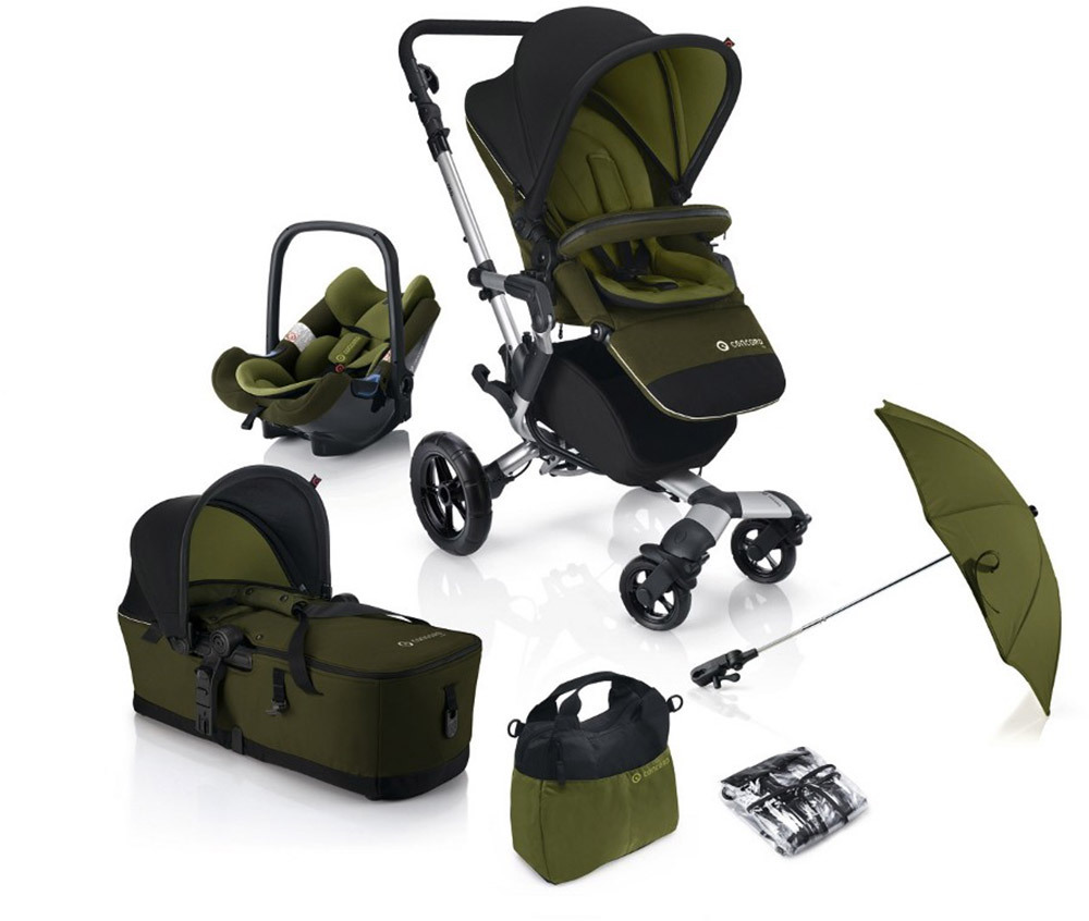 CONCORD Kinderwagenset Neo Mobility-Set  Lime (NSAC0921)