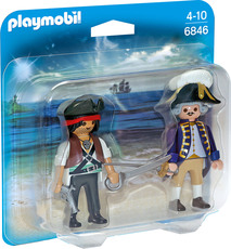 PLAYMOBIL®  Duo Packs - 6846 - Duo Pack Pirat und Soldat