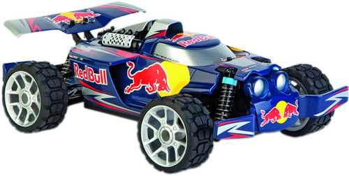 carrera rc 1 18 red bull buggy nx2 2 4ghz digital. Black Bedroom Furniture Sets. Home Design Ideas