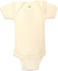 Engel Baby-Body Kurzarm Wolle