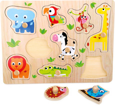 small foot Setzpuzzle Zootiere