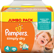 Pampers Simply Dry Windeln