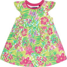 Blue Seven Mini Jersey Kurzarmkleid Tropical