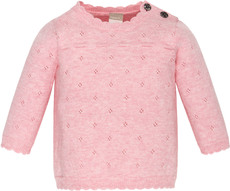 name it Newborn Feinstrick Pullover rosa