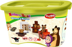 PlayBIG Bloxx Masha and The Bear Bear's Room