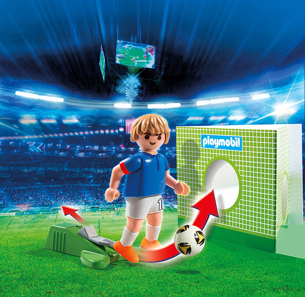 playmobil sport action 6894 fu ballspieler frankreich playmobil jetzt online kaufen. Black Bedroom Furniture Sets. Home Design Ideas