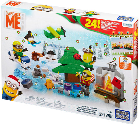 mega bloks minions movie adventskalender spielsets. Black Bedroom Furniture Sets. Home Design Ideas