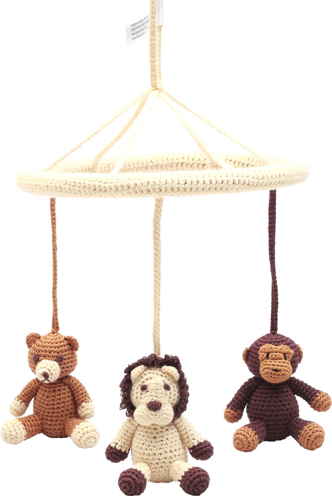 naturezoo mobile bear lion and monkey mobiles jetzt online kaufen. Black Bedroom Furniture Sets. Home Design Ideas