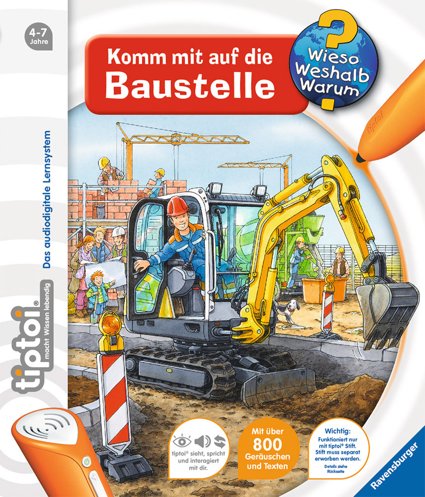 ravensburger tiptoi komm mit auf die baustelle tiptoi b cher jetzt online kaufen. Black Bedroom Furniture Sets. Home Design Ideas