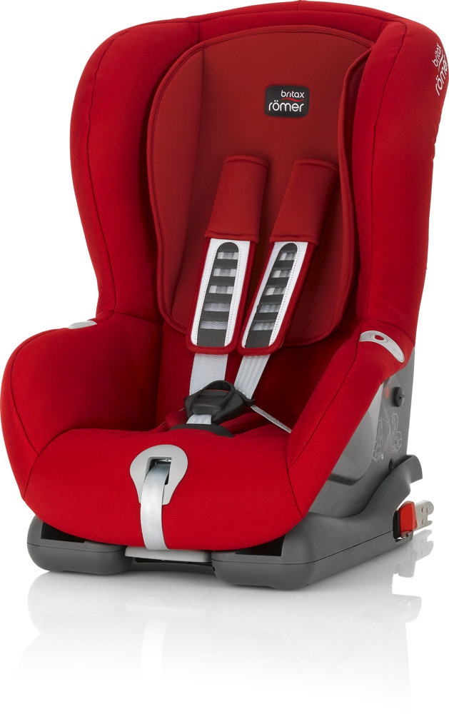 britax r mer duo plus autositz grp 1 9 18kg rot flame red defekt ebay. Black Bedroom Furniture Sets. Home Design Ideas