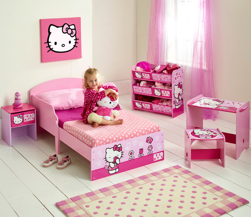 worlds apart kinderbett hello kitty jetzt online kaufen. Black Bedroom Furniture Sets. Home Design Ideas