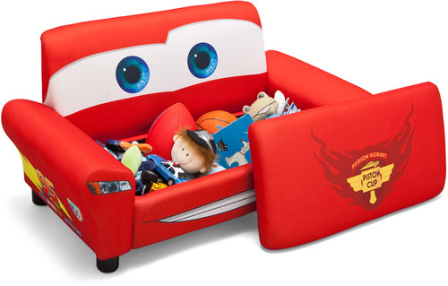delta kids luxus sofa disney cars kindersessel jetzt online kaufen. Black Bedroom Furniture Sets. Home Design Ideas