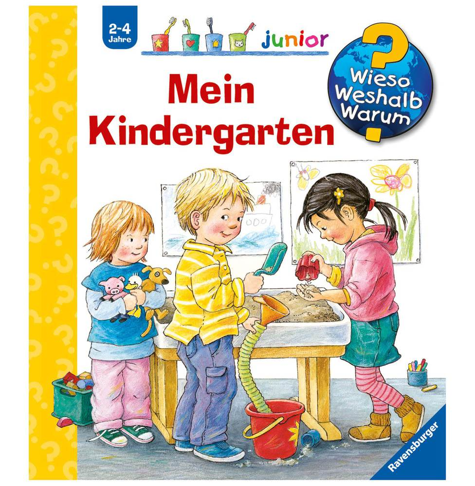wieso weshalb warum junior mein kindergarten. Black Bedroom Furniture Sets. Home Design Ideas