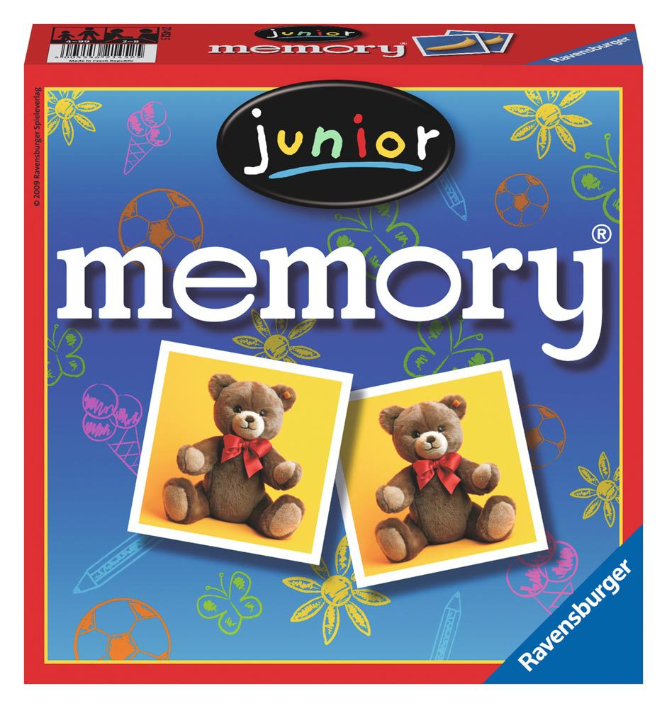 ravensburger lustige kinderspiele junior memory memory jetzt online kaufen. Black Bedroom Furniture Sets. Home Design Ideas