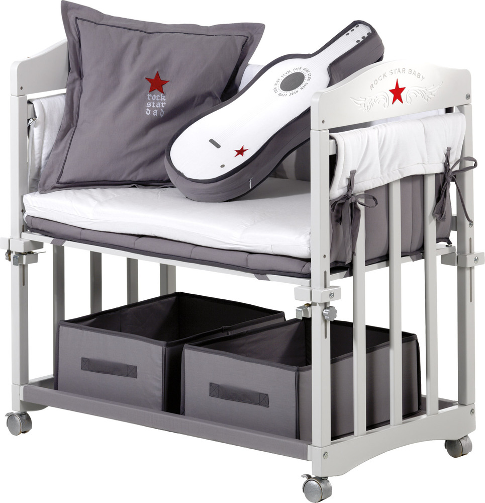 roba stubenbett rock star baby stubenwagen wiegen jetzt online kaufen. Black Bedroom Furniture Sets. Home Design Ideas