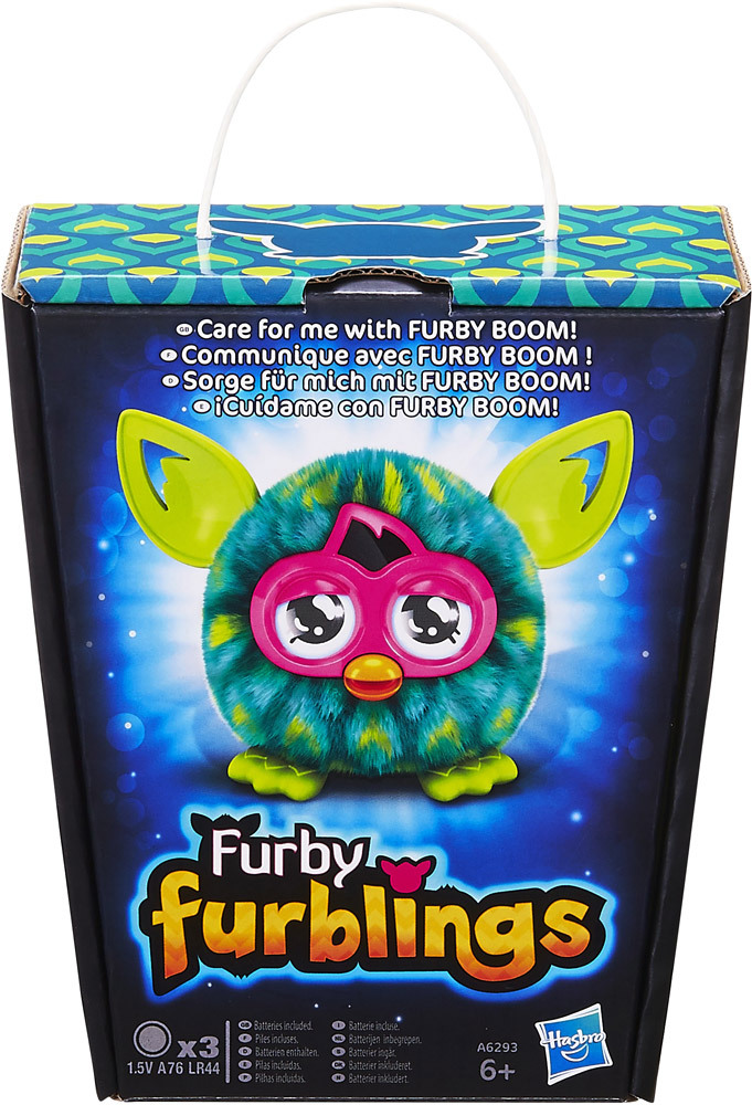 hasbro furby feather furbling pl schtiere mit funktion. Black Bedroom Furniture Sets. Home Design Ideas