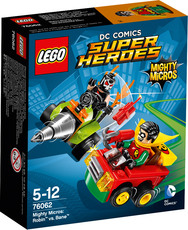LEGO® DC Universe Super Heroes™ - 76062 - Mighty Micros: Robin™ vs. Bane™