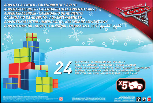 disney cars 3 adventskalender spielzeugautos jetzt. Black Bedroom Furniture Sets. Home Design Ideas