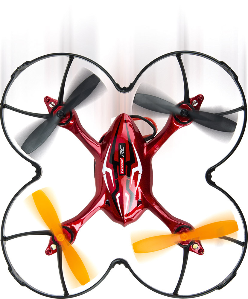RC Quadrocopter, Video One