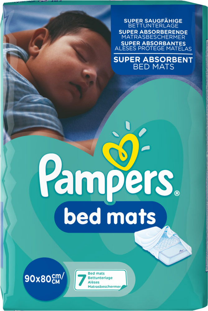 pampers bedmats windeln online kaufen. Black Bedroom Furniture Sets. Home Design Ideas
