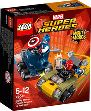 LEGO® Marvel Super Heroes™ - 76065 - Mighty Micros: Captain America vs. Red Skull