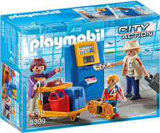 PLAYMOBIL® City Life - 5399 - Familie am Check-in Automat