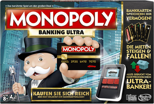 Hasbro monopoly banking ultra sterr version for Jugendzimmer ultra 4