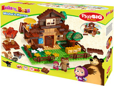 PlayBIG Bloxx Masha and The Bear Bear's House