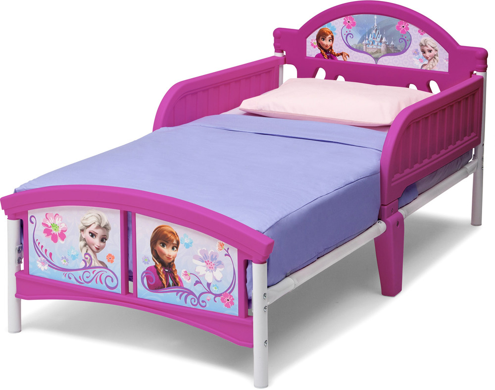 delta kids 3d kinderbett disney frozen kinderbett 70 x. Black Bedroom Furniture Sets. Home Design Ideas