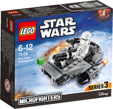 LEGO® Star Wars™ - 75126 - Confidential Microfighter Villain craft blue