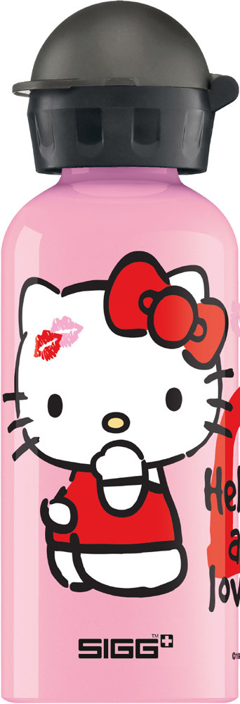 sigg trinkflasche hello kitty 0 4l aluminiumflasche. Black Bedroom Furniture Sets. Home Design Ideas