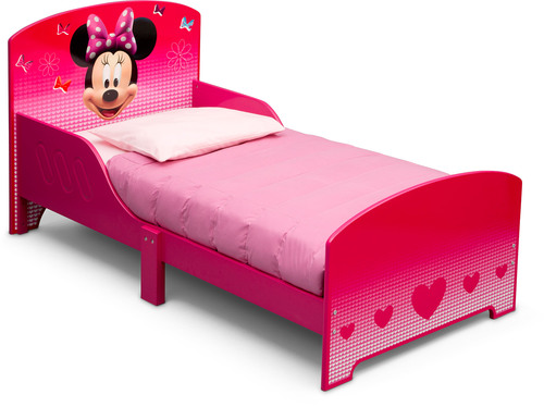Delta Kids Holz-Kinderbett Disney MINNIE » Kinderbett 70 x 140 ...