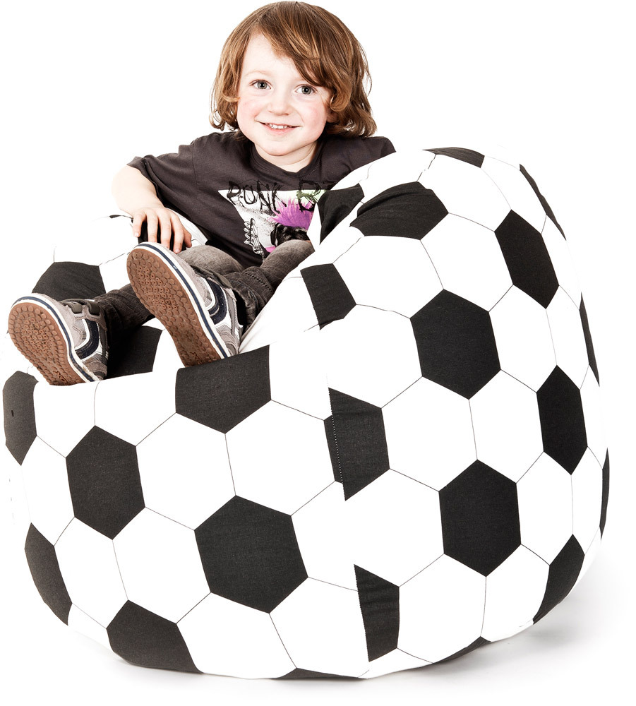 magma sitzsack fussball kindersitzsack jetzt online. Black Bedroom Furniture Sets. Home Design Ideas
