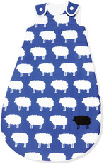 Pinolino Schlafsack Happy Sheep Winter, blau