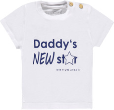 bellybutton Kurzarmshirt - Daddy's new star