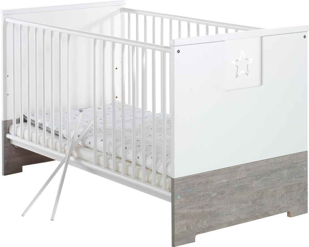 schardt babybett eco star gitterbett jetzt online kaufen. Black Bedroom Furniture Sets. Home Design Ideas
