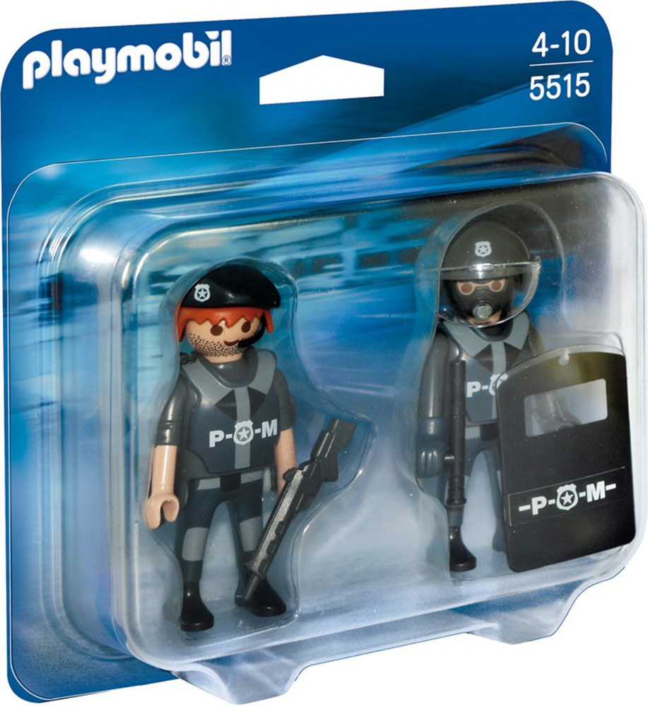 playmobil city action 5515 duo pack sek team playmobil. Black Bedroom Furniture Sets. Home Design Ideas