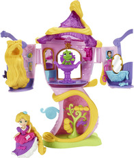 Hasbro Disney Prinzessin Little Kingdom Rapunzel's Styling-Turm