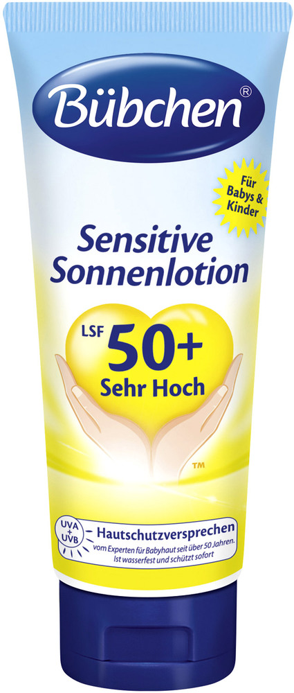 Sensitiv Sonnenlotion