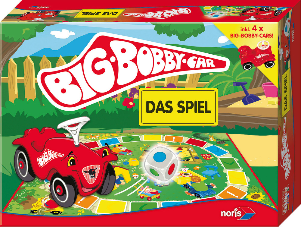 noris big bobby car das spiel brettspiele jetzt online kaufen. Black Bedroom Furniture Sets. Home Design Ideas