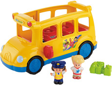 Fisher-Price Little People Schulbus