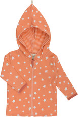 Max & Lilly Stellar world Wendejacke lachs