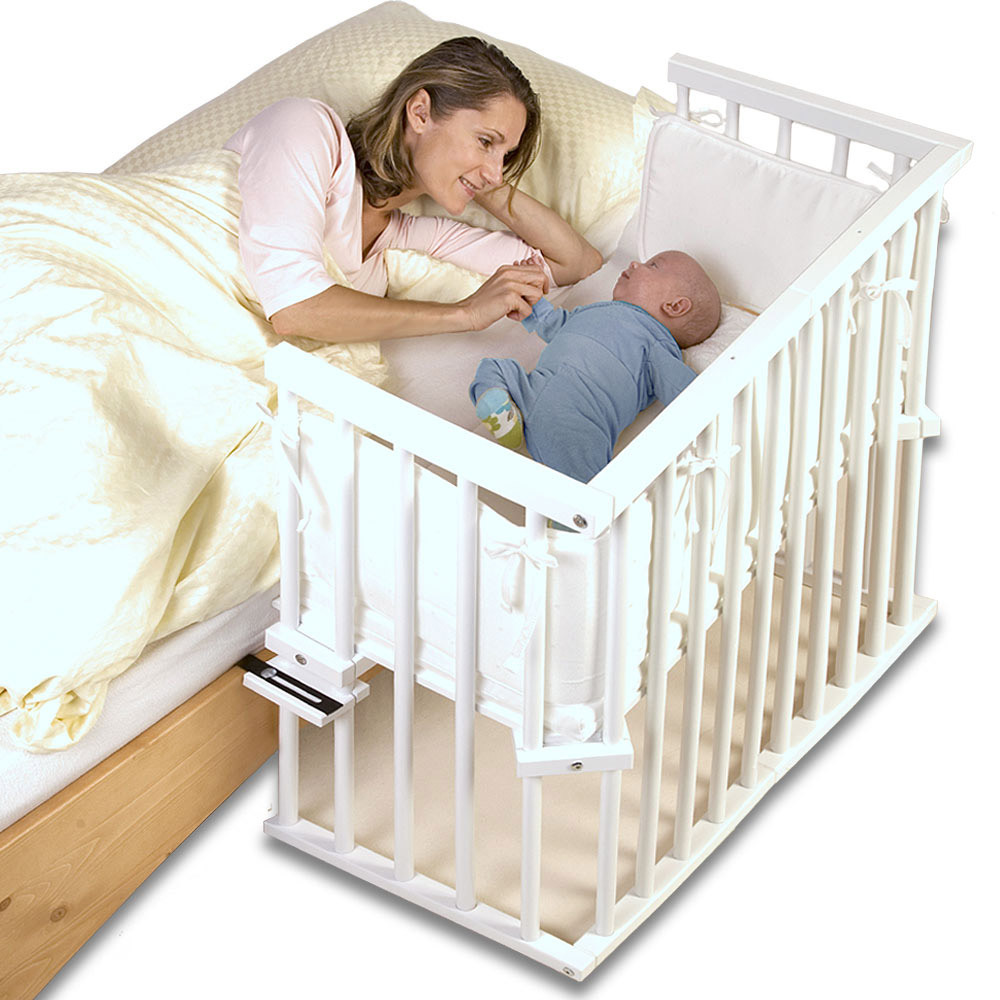 Baby Sleeping In Bed Protector